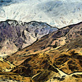 Rugged Mountains Of North India by Ashish Agarwal