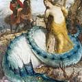 Ruggiero And Angelica Arnold Bcklin by Eloisa Mannion