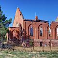 Ruined Church In Rural Utah by Gary Whitton