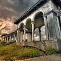 Ruins At Dusk by Ryan Heffron
