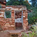 Ruins At Slide Rock State Park by Lynn Bauer
