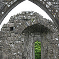 Ruins Of A 9th Century Monastery In Ireland by Beverlee Singer