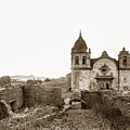 Ruins Of Carmel Mission, Monterey, Cal. Circa 1882 by California Views Archives Mr Pat Hathaway Archives