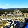 Ruins Of Gran Quivira  by Jeff Swan