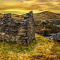 Ruins Of Snowdonia Panorama by Adrian Evans