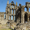 Ruins Of Whitby Abbey by Susan Baker