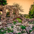 Ruins Of White's Factory - Back To The Front by Black Brook Photography