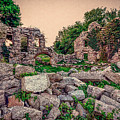 Ruins Of White's Factory - Fallen Blocks by Black Brook Photography