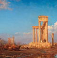 Ruins. Palmyra by Felix Ziem