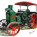 Rumely Oil Pull X Tractor by Ferrel Cordle