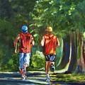 Running Buddies by Yvonne Dagger