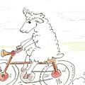 Running Cyclist Cheep by Gabriel Coelho