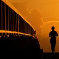 Running Girl by David Lee Thompson