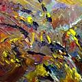 Running Horse Flying Eagle by Karen L Christophersen
