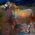 Running Horse by Henriette Tuer lund