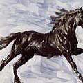 Running Horse by Richard De Wolfe
