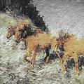 Running Horses by Gary Wilson