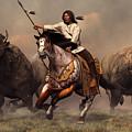 Running With Buffalo by Daniel Eskridge