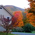 Rural Colorful Autumn Landscape 4 by Jeelan Clark