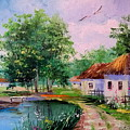 Rural Landscape by Olha Darchuk