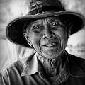 Rural Rice Farmer by Ian Gledhill