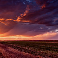 Rural Sunset Beauty by L O C