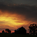 Rural Sunset by CA  Johnson