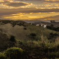Rural Sunset In Spain by Peter Hayward Photographer