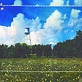 Rural Water Tower Unconventional by Anna Louise