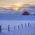 Rural Winter by Idaho Scenic Images Linda Lantzy