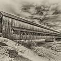 Rusagonish Covered Bridge by Jason Bennett