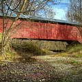 Rush Creek Covered Bridge by Jack R Perry