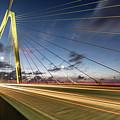 Rush Hour - Ravenel Bridge Charleston Sc by Donnie Whitaker