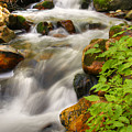 Rushing Water 3 by Douglas Pulsipher