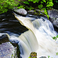 Rushing Water On A Mountain Stream by Bill Cannon