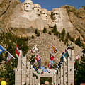 Rushmore State Flags by Mike Oistad