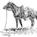 Russell: Rawlins Horse by Granger