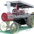 Russell Steam Tractor by Ferrel Cordle
