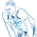 Russell Westbrook Resting by Jack Bunds