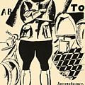 Russia: Mechanic, 1918 by Granger