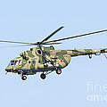 Russian Air Force Mi-171sh Helicopter by Daniele Faccioli