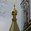 Russian Church Dome by Iglika Milcheva-Godfrey