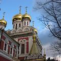 Russian Church by Iglika Milcheva-Godfrey