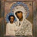 Russian Icon: Mary by Granger