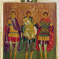 Russian Icon: Saints by Granger