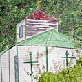 Russian Orthodox In Hoonah by Larry Wright