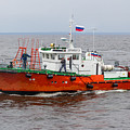 Russian Pilot Boat by Clare Bambers