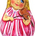 Russian Roly Poly Doll Music Doll by Viktoriya Sirris