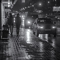 Russian Street Scene At Night 2015 by John Williams