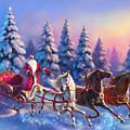 Russian Three-horse by Eldar Zakirov